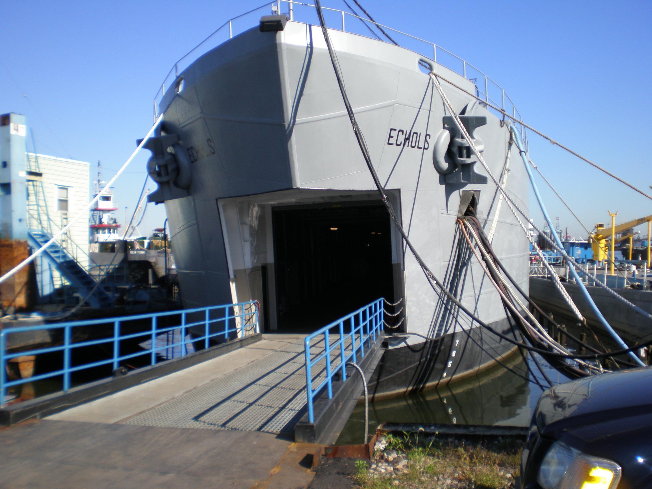 On-shore facility