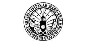 City of Long Beach Department of Public Works logo