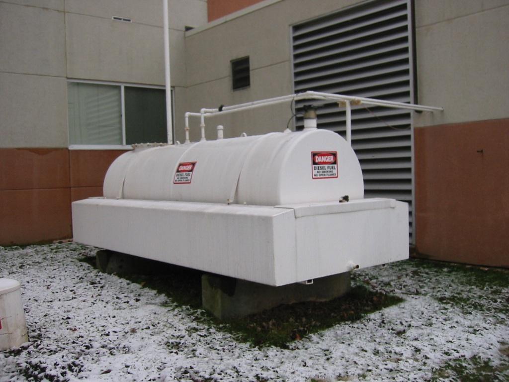 Above ground Diesel storage tank