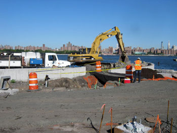 Environmental work associated with the Construction of Bushwick Inlet Park