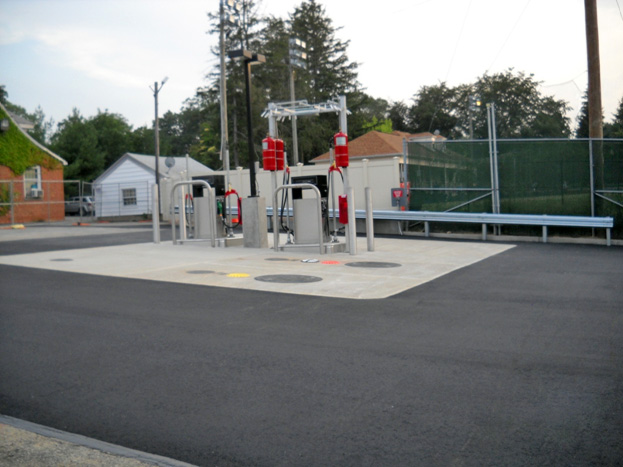 D&B assisted with the new fuel station at TOBAY Golf Course