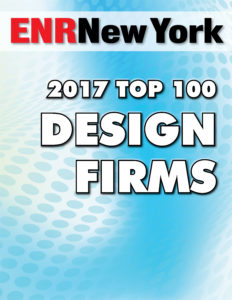 ENR NY - Top 100 Design Firm (2017)